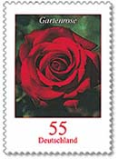 Rose Stamps from Germany