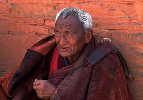 Xiahe Labrung Monastery Monk, China